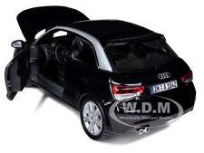 AUDI A1 BLACK  1/24 DIECAST CAR MODEL BY BBURAGO 21058