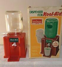 VIntage Kool Aid Dispenser With Original Box