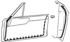 NEW 63-65 Ford Fairlane Hardtop 2 Door Weatherstrip
