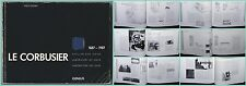 1987 Thilo Hilpert LE CORBUSIER 1887-1987 Modern ARCHITECTURE Design 278-pages