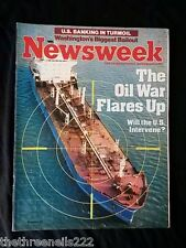 NEWSWEEK - THE OIL WAR FLAIRS UP - MAY 28 1984