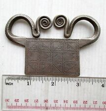 POSITIVE ENERGY! Vintage Hmong Hill Tribe Silver Spirit Lock Amulet 75g