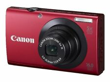 Canon PowerShot A3400 IS 16.0MP Digital Camera - Silver