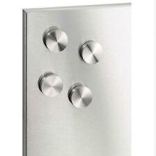 BLOMUS Stainless Steel Muro Magnets Heavy Duty Set of 4 Board Memo Photo Holder