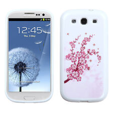 Samsung Galaxy S III 3 TPU CANDY Flexi Gel Skin Case Phone Cover Spring Flowers