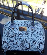 Serenade - Alexandria Patent and Matte Leather Handbag