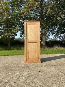 Vintage Antique Shaker Style Pine Hall Storage Cupboard Cabinet