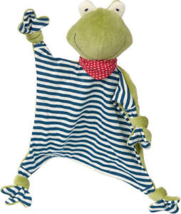 Sigikid 41352 Schnuffeltuch Frosch Green