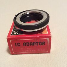 Sigma Ic Adaptor Mount F4.5 For Yashica-Contax