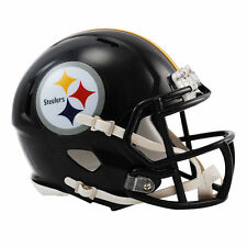 NFL Pittsburgh Steelers Riddell Revolution Speed Mini Helmet