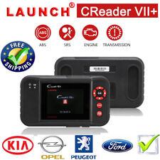 LAUNCH CReader X431 VII+ Escáner de Diagnóstico Auto ENG ABS SRS AT Código OBD2