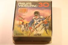 VINTAGE PHILIPS G7000 CONSOLE COMPUTER VIDEOPAC 30 BATTLEFIELD GAME 1981