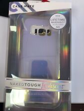CaseMate Naked Tough 2 Layer Case for Samsung Galaxy S8, Iridescent