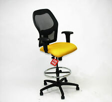 Ahrend 160 Type Draughtsman chair Yellow seat