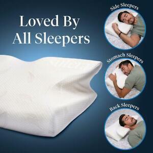 Sutera Dream Deep Pillow Orthopedic Contour Ergonomic Cervical Neck Memory Foam