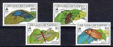 INSECTE LIBELLULE Grenadines de Grenade 4 val de 1990 ** INSECT INSEKT DRAGONFLY