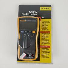 Fluke 113 Utility Multimeter New In Box