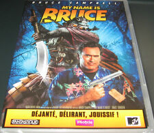 MY NAME IS BRUCE  //  Bruce CAMPBELL // DVD