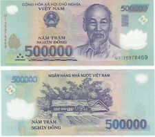 Vietnam Dong, 20 Million, (40X500,000) Circulated Banknotes