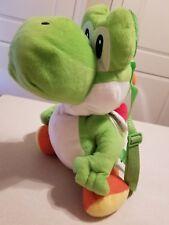 "Official Yoshi Plush 18"" Nintendo Super Mario Bros Stuffed Toy Backpack"