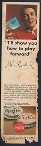 1965-66 Coca Cola Hockey Booklet Order Form (Henri Richard)
