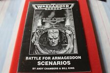 Games Workshop Warhammer 40k WH40K 2nd Edition Battle For Armageddon Scenarios