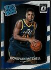 DONOVAN MITCHELL $150+ MINT JAZZZ RATED ROOKIE CARD 188 RC 2017-18 DONRUSS OPTIC. rookie card picture