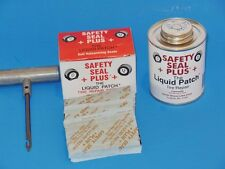 SAFETY SEAL +PLUS+ Repair Kits (60 Plugs + Liquid Patch  + T-Hande Pull Needle)