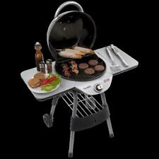 Patio Bistro Electric Grill Freestanding Griddle Outdoor Backyard Bbq Grilling