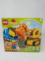 Lego Duplo 26 Piece Truck and Excavator Set 10812 - Ages 2-5
