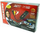 Diamond VC500 One Touch USB Video & Audio Capture Device - Black