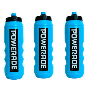 Powerade 32 oz Sports Clutch Water Bottle with Squeeze Cap - (Set of 3)