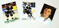 Luc Robitaille Los Angeles Kings NHL Hockey Vintage Rookie Cards (Set of 3)