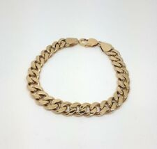 Miran 110117 9K Yellow Gold Thick Curb Bracelet 22cm 44.1g RRP $4770