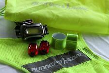 Runner's Goal Running Safety Kit - Complete Night Reflective Running Gear Set