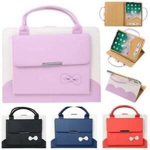 "Handbag Leather Stand Case Cover Fr iPad Mini Air Pro 9.7"" 10.2"" 10.5"" 11"" 12.9"""