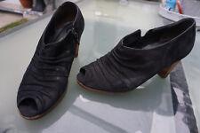 PAUL GREEN Damen Schuhe Pumps High Heels Abendschuhe Gr.6 / 39 schwarz Leder TOP