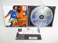 PS1 WORLD SOCCER JIKKYO WINNING ELEVEN 4 * Playstation p1