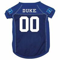 DUKE UNIVERSITY BLUE DEVILS PET DOG MESH FOOTBALL JERSEY ALL SIZES LICENSED