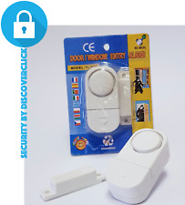 NEW Magnetic Security Alarm Sensor - Anti Theft Burglar Home Entry Door Window