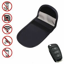 1 x Car Key Signal Blocker Case Faraday Cage Fob Pouch Keyless RFID Blocking Bag
