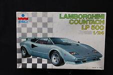 YD011 ESCI 1/24 maquette voiture 3056 Lamborghini Countach LP500