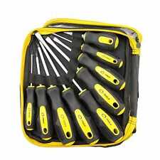 9 Piece CRV Screwdriver Set Slotted Phillips Screw Driver Tools
