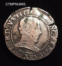 HENRI III   FRANC  ARGENT   1578 B  ROUEN  A ETUDIER