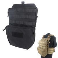 3L Hydration Backpack Pack Water Reservoir Bag Molle for Tactical JPC Vest Black