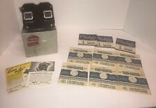 Vintage Sawyer's View-Master Stereoscope Viewer Bakelite 1950s in Box w 7 Slides