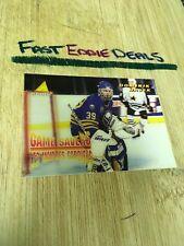 MCDONALD'S PINNACLE HOCKEY 1996 DOMINIK HASEK GAME SAVERS CARD MCD-28 SABRES