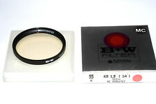 B+W Germany MC KR1,5 Skylight Filter für 55mm Filtergewinde multicoated NEU/OVP