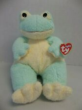 "Rare Ty Baby ""Frogbaby"" Frog The Pillow Pal Collection with rattle pluffie"