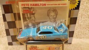 1991 Racing Champions 1:64 NASCAR Pete Hamilton 1970 Plymouth Superbird #40